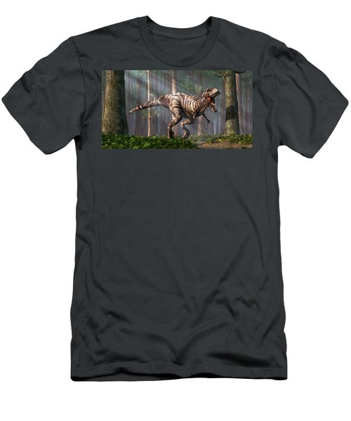 Trex In The Forest Men's T-Shirt (Athletic Fit)