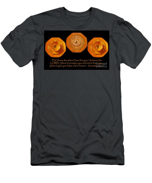 Triple Eight Octagon Saucers With Jeremiah Twenty Nine Eleven On Black Men's T-Shirt (Athletic Fit)