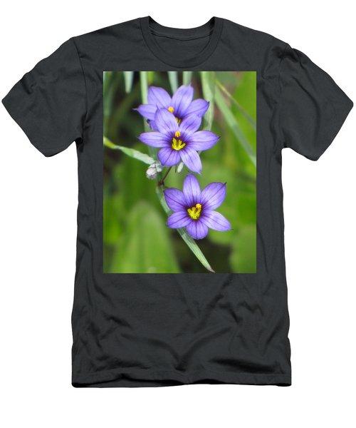 Triple Purple Men's T-Shirt (Athletic Fit)