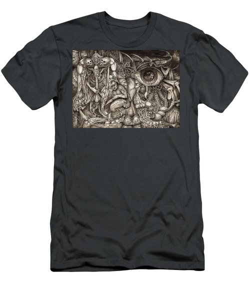 Tripping Through Bogomils Mind Men's T-Shirt (Athletic Fit)