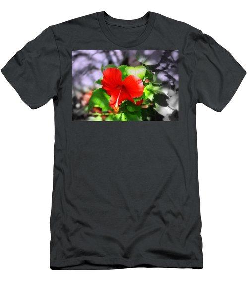 Tropical Burst Men's T-Shirt (Athletic Fit)