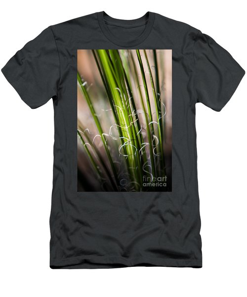 Men's T-Shirt (Athletic Fit) featuring the photograph Tropical Grass by John Wadleigh