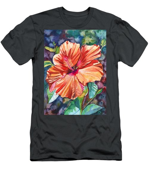 Tropical Hibiscus 5 Men's T-Shirt (Athletic Fit)