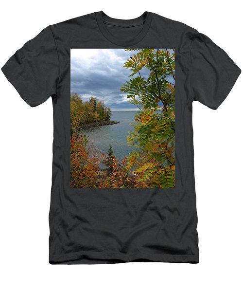 Tropical Mountain Ash Men's T-Shirt (Athletic Fit)