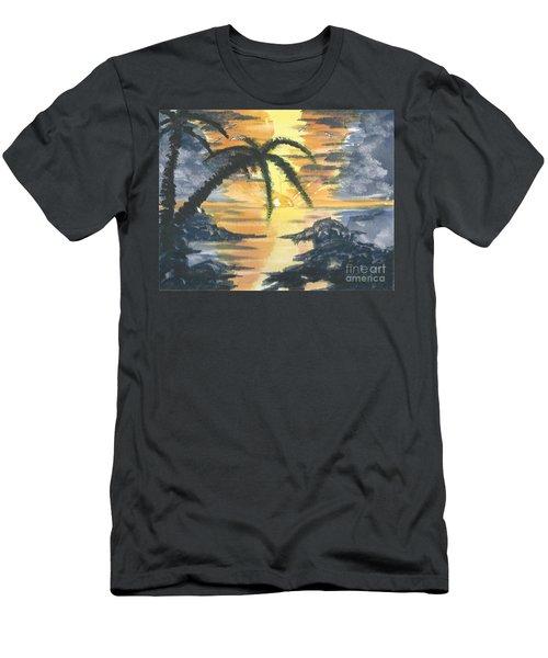 Tropical Sun Men's T-Shirt (Athletic Fit)