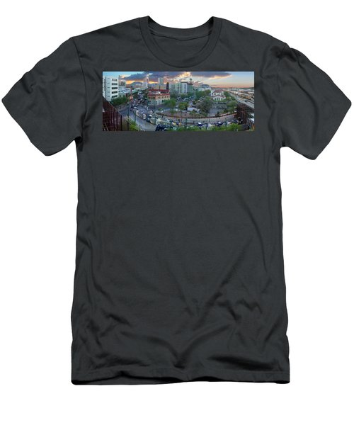 Tucson Streetcar Sunset Men's T-Shirt (Athletic Fit)