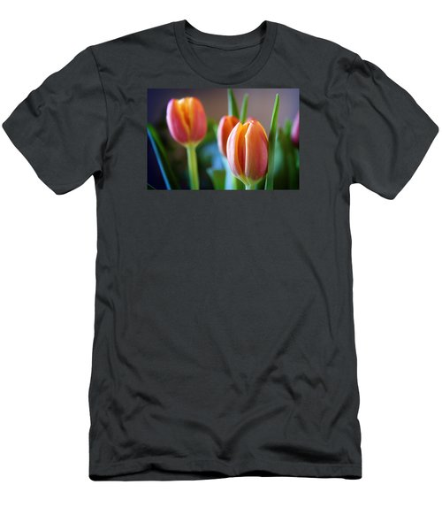 Tulips Artistry Men's T-Shirt (Athletic Fit)