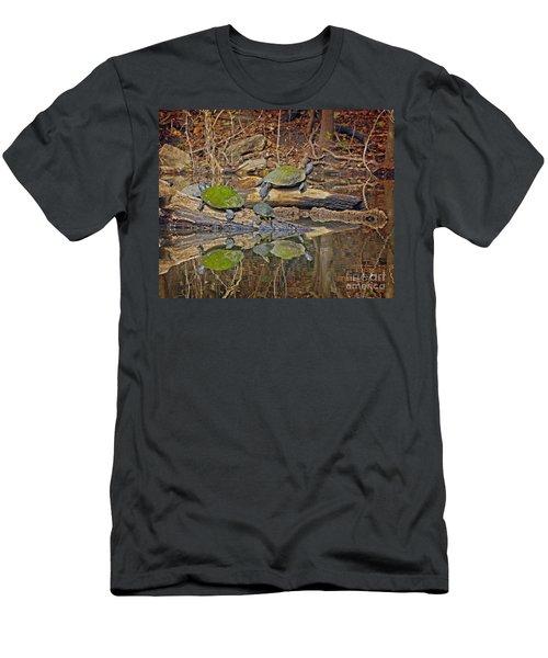 Turtle Trio Men's T-Shirt (Athletic Fit)
