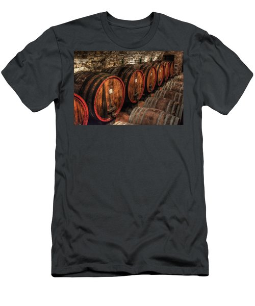 Tuscan Wine Cellar Men's T-Shirt (Athletic Fit)