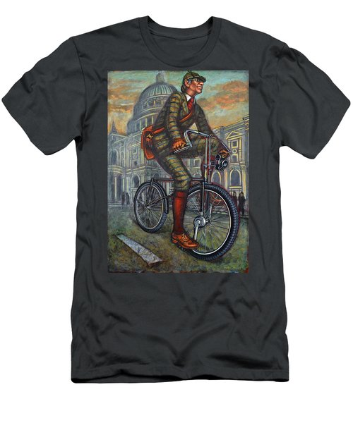 Bob On His Bantam St Pauls London Men's T-Shirt (Athletic Fit)