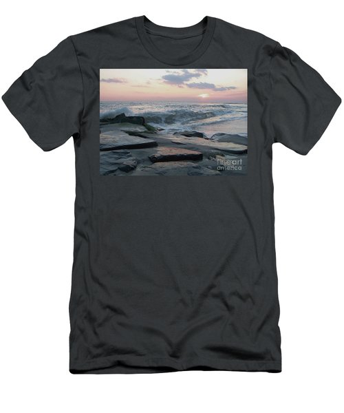 Twilight At Cape May In October Men's T-Shirt (Athletic Fit)