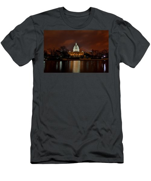 Twilight At The Capitol Men's T-Shirt (Athletic Fit)