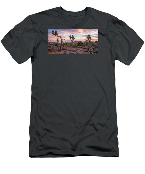 Twilight Comes To Joshua Tree Men's T-Shirt (Athletic Fit)