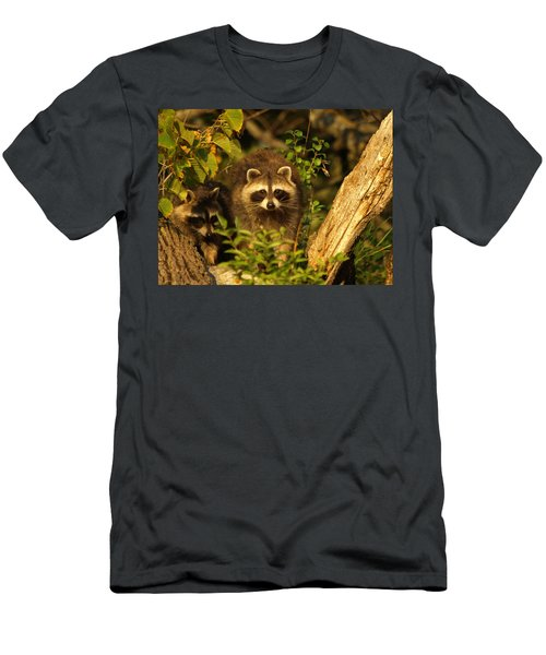 Men's T-Shirt (Athletic Fit) featuring the photograph Twins by James Peterson