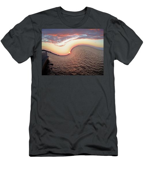 Men's T-Shirt (Slim Fit) featuring the photograph Twisted Sunset by Aimee L Maher Photography and Art Visit ALMGallerydotcom