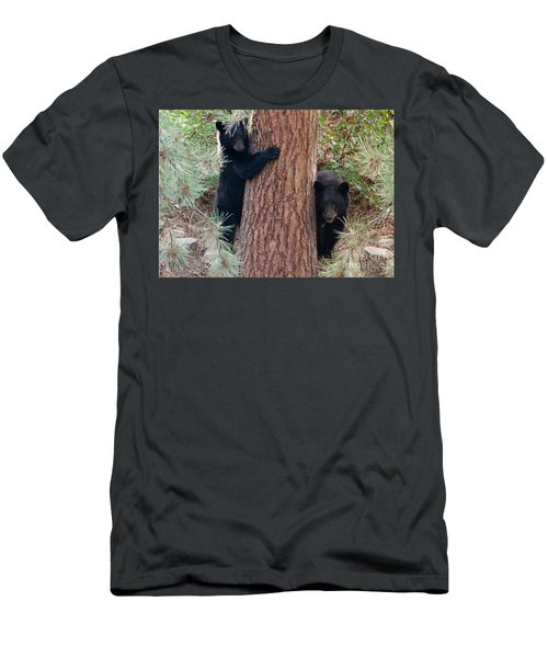 Two Bears Men's T-Shirt (Athletic Fit)