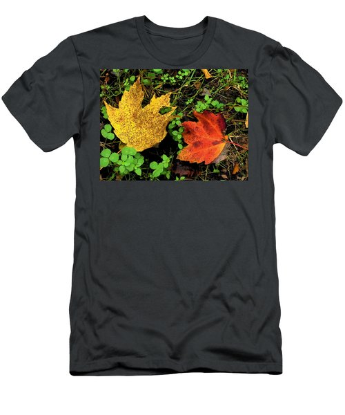 Two Leaves Men's T-Shirt (Athletic Fit)