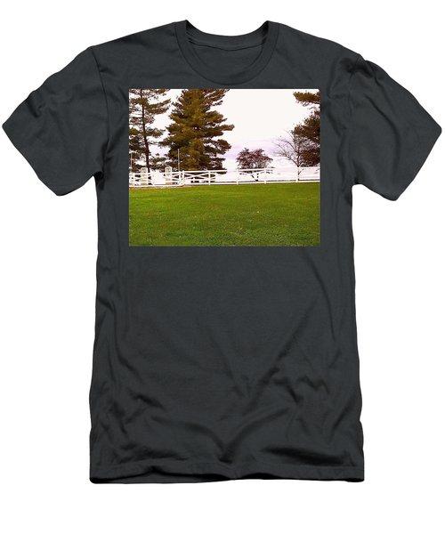 Two Old Gas Pumps Men's T-Shirt (Athletic Fit)