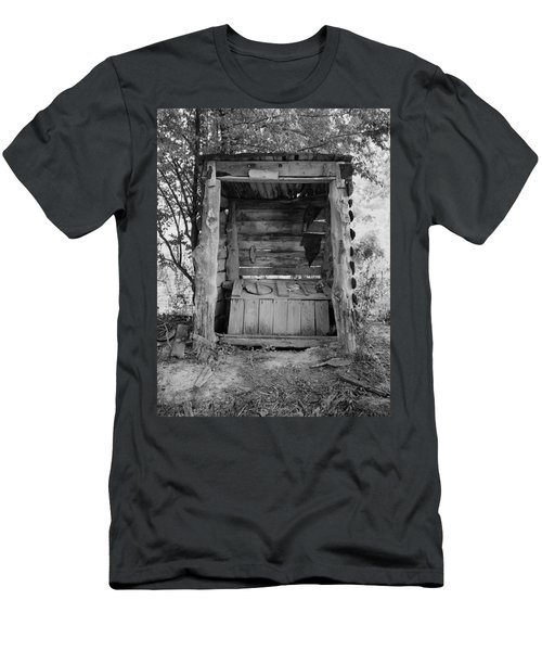 Two-seater Outhouse Men's T-Shirt (Athletic Fit)