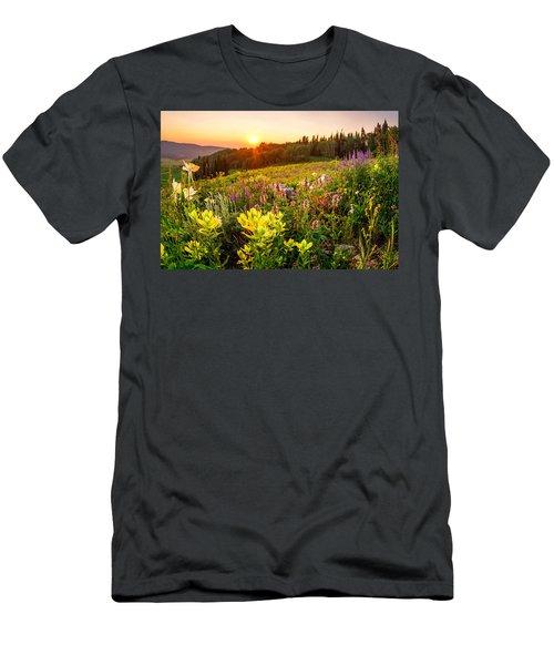 Uinta Wildflowers Men's T-Shirt (Athletic Fit)
