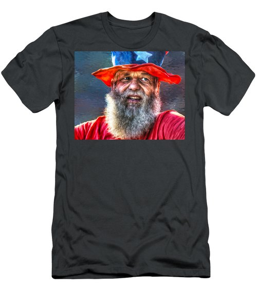 Uncle Sam Men's T-Shirt (Athletic Fit)