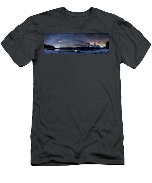 Under Big Skies Men's T-Shirt (Athletic Fit)
