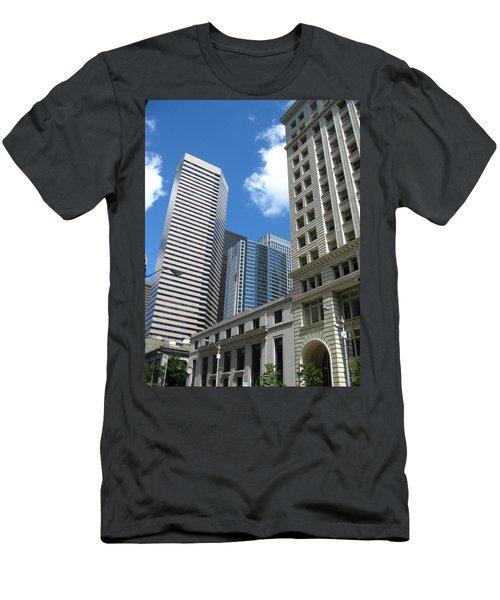Under Seattle Blue Men's T-Shirt (Athletic Fit)