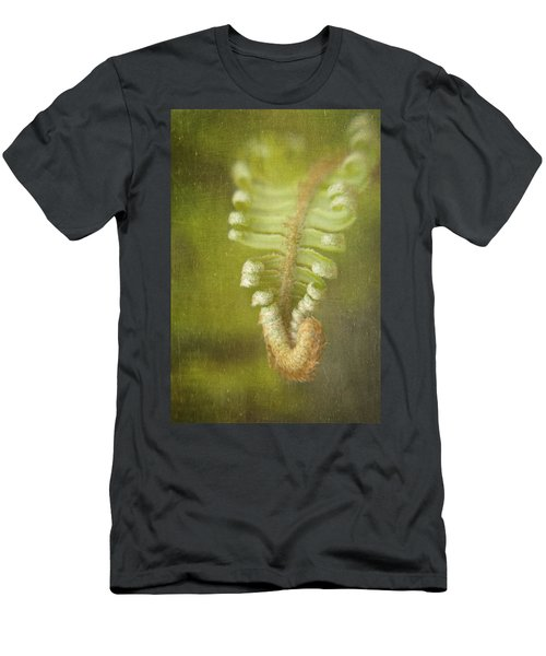 Unfurling Fern Men's T-Shirt (Athletic Fit)