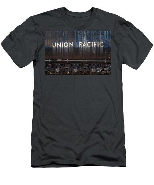 Union Pacific - Big Boy Tender Men's T-Shirt (Slim Fit) by Paul W Faust -  Impressions of Light