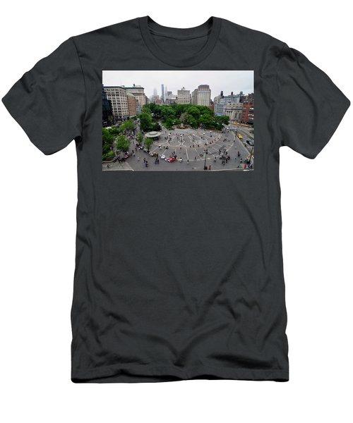 Union Square, N.y.c Men's T-Shirt (Athletic Fit)