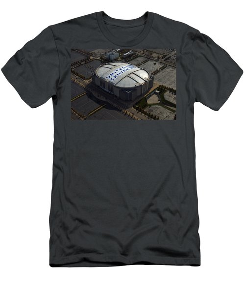 United Center Chicago Sports 09 Men's T-Shirt (Slim Fit) by Thomas Woolworth