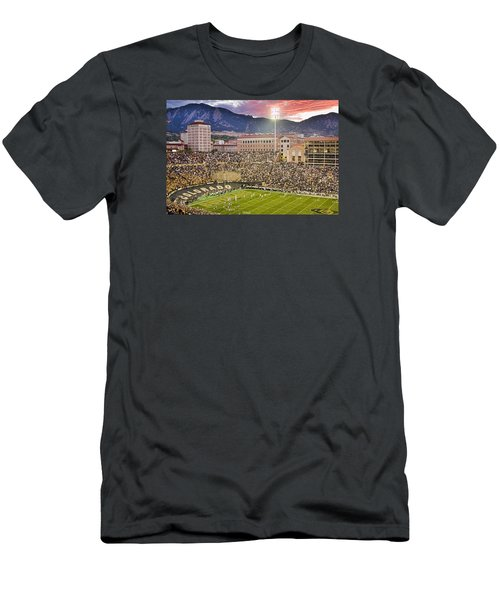 University Of Colorado Boulder Go Buffs Men's T-Shirt (Athletic Fit)