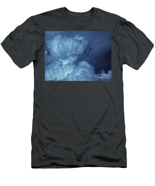 Men's T-Shirt (Slim Fit) featuring the photograph Unleashed by Ellen Cotton