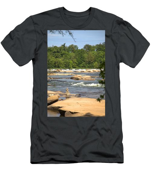 Unnatural Rock Formation Men's T-Shirt (Athletic Fit)