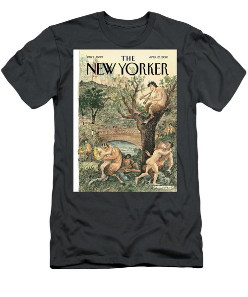 New Yorker April 12th, 2010 Men's T-Shirt (Athletic Fit)