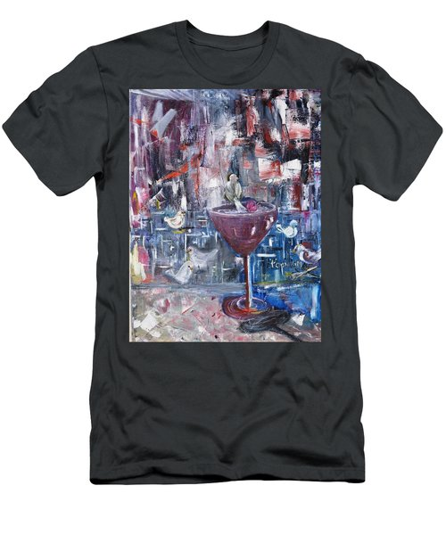 Untitled Men's T-Shirt (Slim Fit) by Evelina Popilian