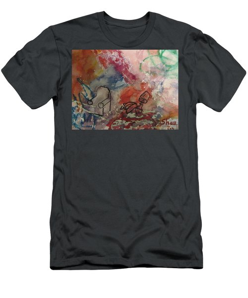 Untitled Watercolor 1998 Men's T-Shirt (Athletic Fit)
