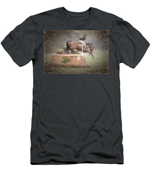 Up And Over Men's T-Shirt (Athletic Fit)