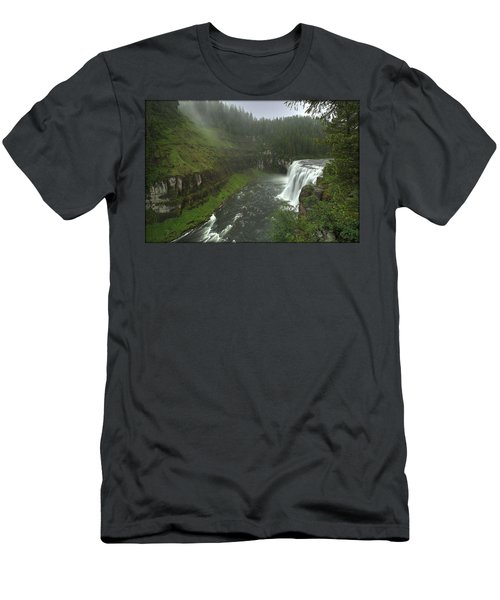 Upper Messa Falls Men's T-Shirt (Athletic Fit)