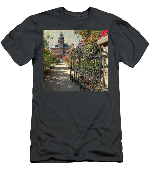 Vaile Landscape And Gate Men's T-Shirt (Athletic Fit)