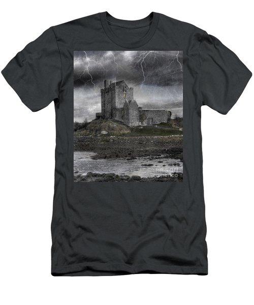Vampire Castle Men's T-Shirt (Athletic Fit)