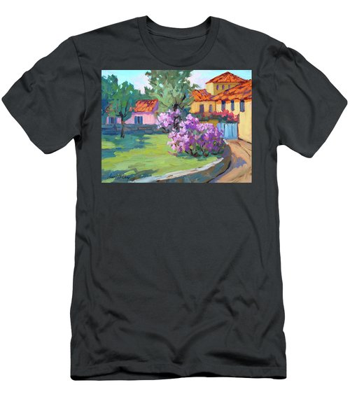 Van Gogh Hospital St. Remy Men's T-Shirt (Athletic Fit)
