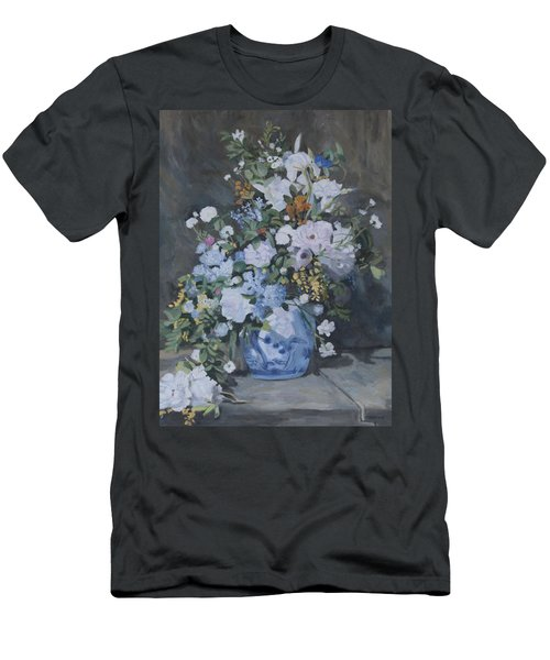 Vase Of Flowers - Reproduction Men's T-Shirt (Athletic Fit)