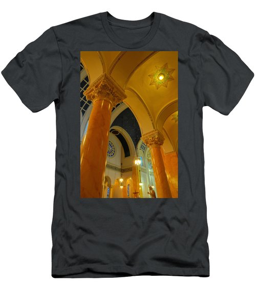 Vaulted Ceilings Men's T-Shirt (Athletic Fit)