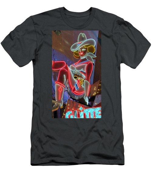 Vegas Vicky Men's T-Shirt (Athletic Fit)