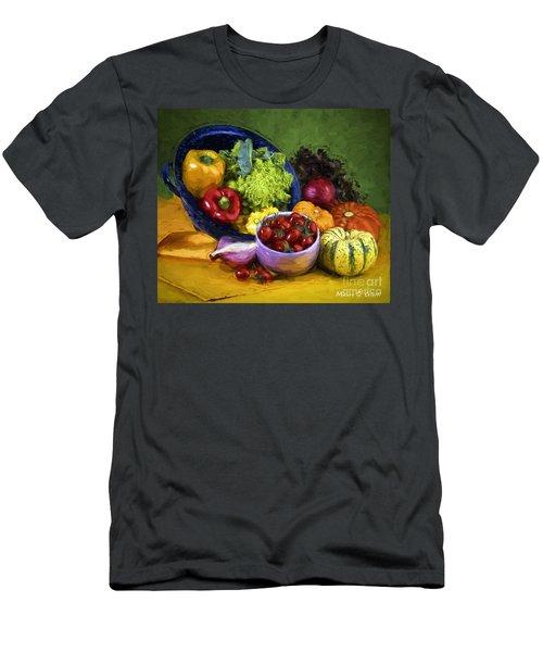 Veggie Bowl  Men's T-Shirt (Athletic Fit)