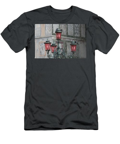 Venice Lights By Day Men's T-Shirt (Athletic Fit)