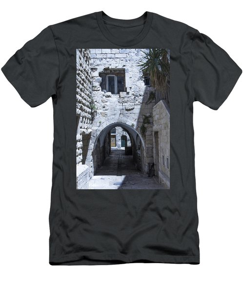 Very Old City Architecture No 1 Men's T-Shirt (Athletic Fit)