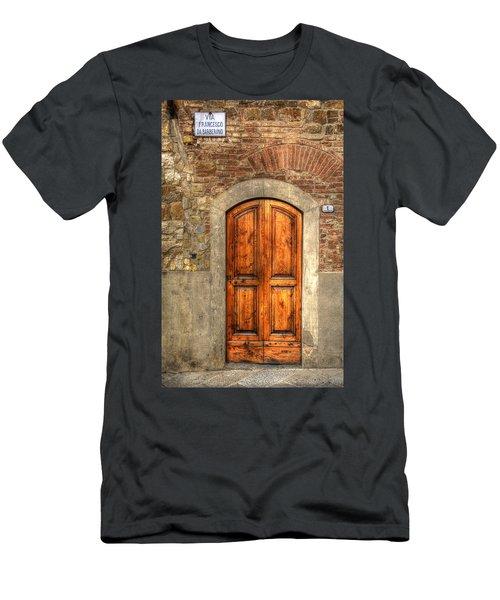 Via Francesco Men's T-Shirt (Athletic Fit)
