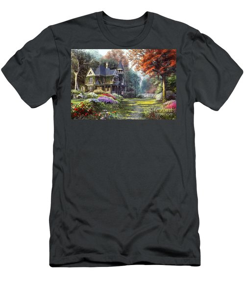 Victorian Garden Men's T-Shirt (Athletic Fit)